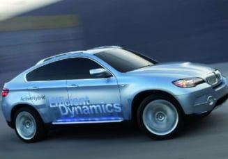 La sfarsitul anului, BMW va lansa X6 si Seria 7 hibrid