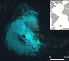 Lac de lava, descoperit in Antarctica. Mai sunt doar 7 in toata lumea!