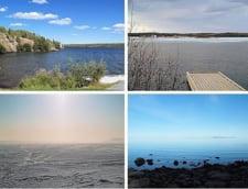 Lacul Grand lac des Esclaves America de Nord