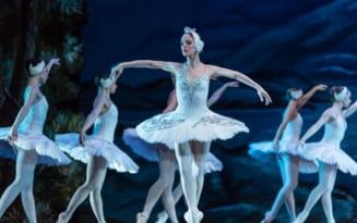 """Lacul Lebedelor, cel mai apreciat balet al tuturor timpurilor, pe scena Palatului Culturii """"Teodor Costescu"""""""