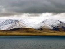 Lacul Namtso lac sarat altitudine ridicata