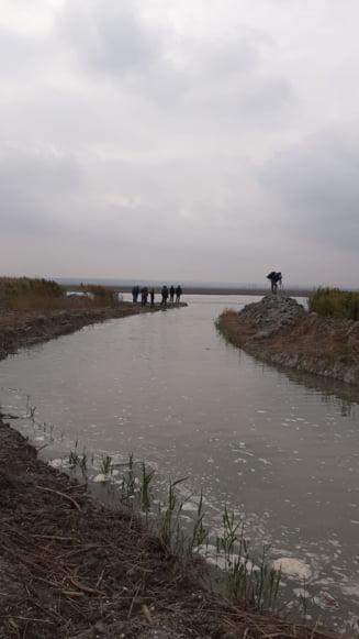 Lacul Nuntasi din Rezervatia Biosferei Delta Dunarii, care a secat in luna august, are din nou apa