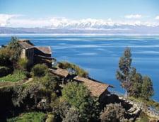 Lacul Titicaca altitudine mare mitologie