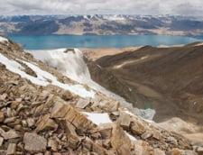 Lacul Tso Moriri Hymalaya altitudine ridicata