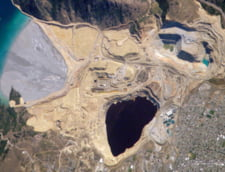 Lacul artificial Berkeley Pit, Butte, Montana
