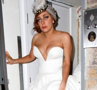 Lady Gaga, de nerecunoscut dupa o noapte nebuna