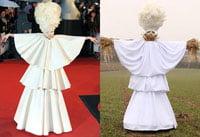 Lady Gaga e sperietoare de ciori (Galerie foto)