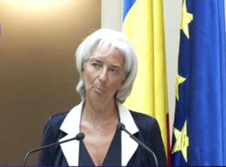 Lagarde (FMI), despre Romania si UE: Unde-s doi, puterea creste!