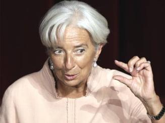 Lagarde: Romania, probabil da, va avea un nou acord cu FMI. Ce spune de aderarea la euro