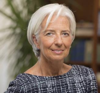 Lagarde primeste inca un mandat la sefia FMI, in ciuda problemelor cu justitia