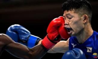 Lamentabil! Un boxer japonez a fost luat la pumni și băgat în scaun cu rotile, dar a câștigat meciul de la JO 2020. România a fost și ea defavorizată VIDEO