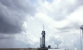 Lansarea NASA SpaceX a reusit: Capsula Crew Dragon a fost trimisa spre Statia Spatiala Internationala (Video)