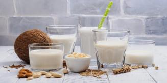 Lapte de soia, ovaz, migdale, orez, nuca de cocos - care este cel mai bun pentru sanatatea noastra