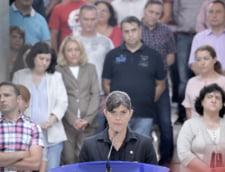 Laura Codruta Kovesi, declaratii sediul DNA, dupa revocarea de catre presedinte