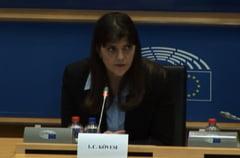 Laura Codruta Kovesi, invitata la Conferinta Presedintilor din Parlamentul European sa vorbeasca despre Parchetul European