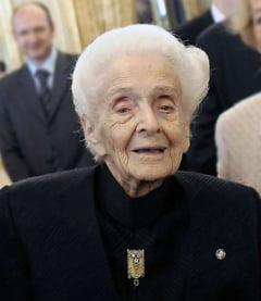 Laureata premiului Nobel Rita Levi-Montalcini a murit la 103 ani