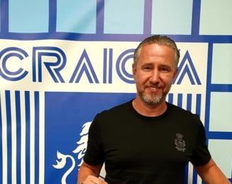 Laurențiu Reghecampf, prima zi ca antrenor la Craiova. Ce le-a promis fanilor și cum vede lupta pentru titlu