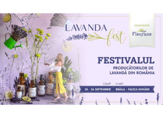 Lavanda Fest, un eveniment ce nu trebuie ratat
