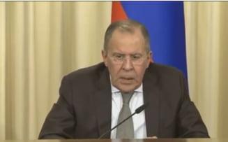 Lavrov: Politica UE fata de Rusia a fost creata de o minoritate agresiva
