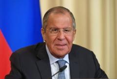 Lavrov vrea dialog cu NATO pentru evitarea unui conflict si denunta exercitiile militare din Romania