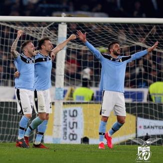 Lazio este invinsa pentru prima data dupa 21 de meciuri in Serie A si se indeparteaza de titlu