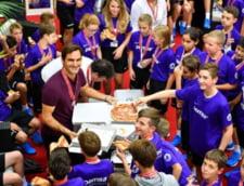 Lectia de modestie data de Roger Federer: Cum a fost surprins in vestiar dupa victoria in fata lui Marius Copil (Foto)