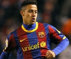 Lectie de fotbal marca Barcelona (Video)