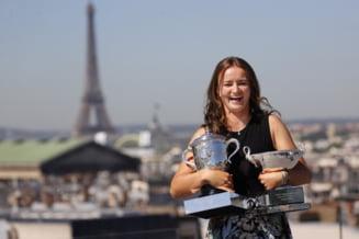 "Lectie de modestie din partea dublei campioane de la Roland Garros: ""Incerc sa fiu umila"""