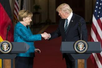 Lectiile germane dupa intalnirea Merkel - Trump sau cum ar trebui sa se comporte o mare democratie