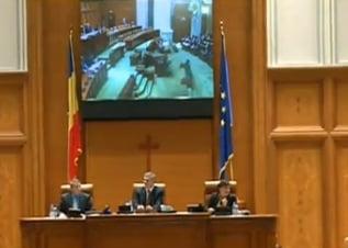 Legea amnistiei a fost respinsa de Parlament