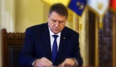 Legea privind executarea pedepselor, promulgata de presedintele Iohannis