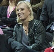 Legendara Martina Navratilova, uimita de Irina Begu: Dumnezeule, cum e fata asta!