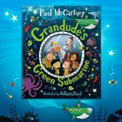 """Legendarul Paul McCartney a anuntat continuarea cartii pentru copii """"Hey Grandude!"""""""