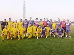 Legendele fotbalului romanesc au facut spectacol la Pitesti