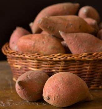Legumele toamnei: Cartofii dulci, cartofii care seamana cu morcovii