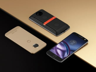 Lenovo aduce Moto Z in Romania: Un telefon modular, subtire, fabricat dintr-un material utilizat in industria militara