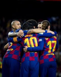 Leo Messi, noi cifre fabuloase pe Camp Nou, dupa inca un gol marcat intr-o victorie a Barcelonei (Video)