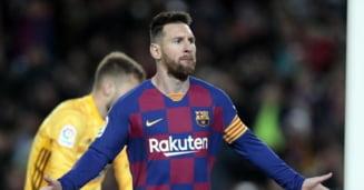 Leo Messi, nou hattrick senzational in tricoul Barcelonei. L-a egalat pe Ronaldo si a bifat si alte recorduri de pus in rama (Video)