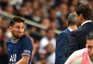 Leo Messi a aflat de ce a fost schimbat! Antrenorul lui PSG l-a pus la punct pe super-starul argentinian