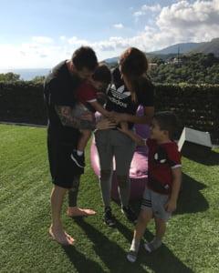 Leo Messi a impartasit o veste deosebita, prin intermediul unei retele de socializare