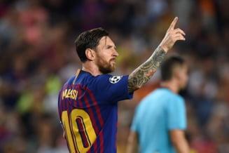 Leo Messi raspunde provocarii lansate de Cristiano Ronaldo si comenteaza clasamentul Balonului de Aur
