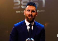 Leo Messi reuseste o noua performanta superba