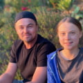 "Leonardo Di Caprio o sustine pe Greta Thunberg pe care o numeste ""lider al epocii noastre"""