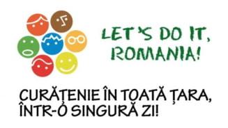 Let's Do It, Romania! - Ziua Curateniei Nationale, organizata sambata