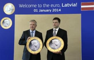 Letonia a trecut la euro de la 1 ianuarie - este cel de-al 18-lea membru al zonei euro
