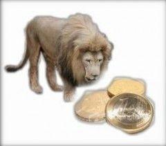 Leul in genunchi: 3,83 de lei pentru un euro