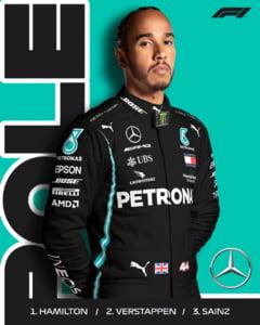 Lewis Hamilton, in pole position in a doua etapa a sezonului de Formula 1