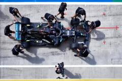 Lewis Hamilton a castigat pentru a saptea oara GP-ul de F1 al Marii Britanii. El a trecut linia de sosire cu pana