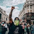 Lewis Hamilton a participat la manifestatiile impotriva rasismului de la Londra