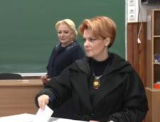 Lia Olguta Vasilescu a votat